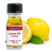 Lemon Oil-LorannGourmet Super Flavours 3.7ml