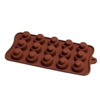 CHOCOLATE SWIRL Silicone Chocolate Mould