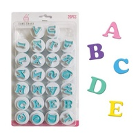 MINI UPPERCASE ALPHABET CUTTERS