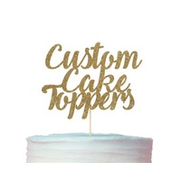Custom Card Stock Toppers