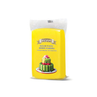 Yellow 250g Vizyon Fondant (Sugar Paste)