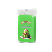 Green 250g Vizyon Fondant (Sugar Paste)
