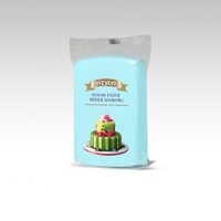 Light Blue 250g Vizyon Fondant (Sugar Paste)
