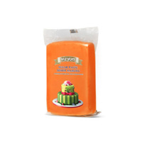 Orange 250g Vizyon Fondant (Sugar Paste)
