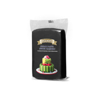 Black 250g Vizyon Fondant (Sugar Paste)