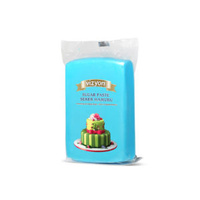 Blue 250g Vizyon Fondant (Sugar Paste)
