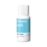 Sky Blue Oil Based Colouring 20ml by Colour Mill