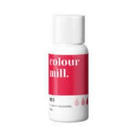 Red Oil Based Colouring 20ml by Colour Mill