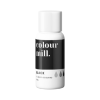 Black Oil Based Colouring 20ml by Colour Mill