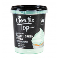 PASTEL GREEN Butter Cream 425g Over The Top