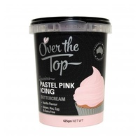 PASTEL PINK Butter Cream 425g Over The Top