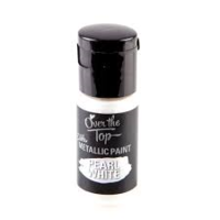 Pearl White Edible Paint 15ml by Over The Top