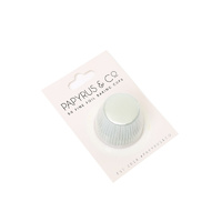 Mini White Foil Baking Cups (50 pack)
