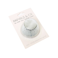 Standard SILVER Foil Baking Cups (50 pack)