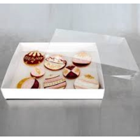 Biscuit Box Large 320x250x50 With Clear Lid