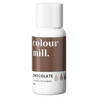 Chocolate Oil Based Colouring 20ml by Colour Mill