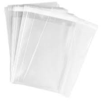 Cookie Bags 120x180 10 Pack Adhesive Strip