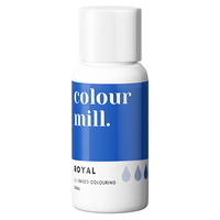 Royal Blue Oil Based Colouring 20ml by Colour Mill