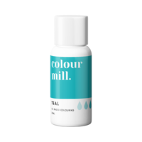 Teal Oil Based Colouring 20ml by Colour Mill