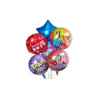 Balloons Helium Filled- Small