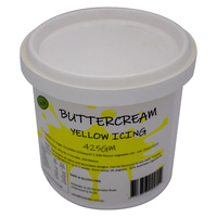 Buttercream Yellow 425g Cake Art