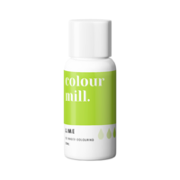 Lime Oil Based Colouring 20ml by Colour Mill