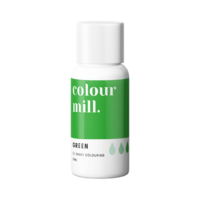 Green Oil Based Colouring 20ml by Colour Mill