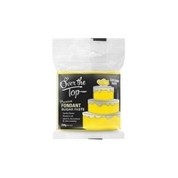 Over The Top Fondant Sun Yellow 250g