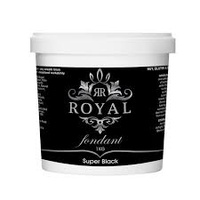 Royal Super Black Fondant 1kg