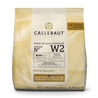 Belgium Callebaut White Chocolate 400g