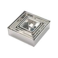6 Inch Square Cake Tin 3 Inch deep
