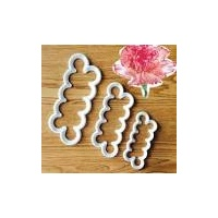 Easiest Carnation Cutter -set of 3