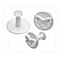 Mondo- Butterfly Plunger Cutter set of 3