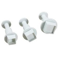 Mondo- Square plunger cutter set of 3