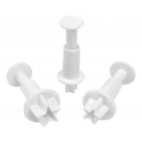 Mondo- Star plunger cutter set of 3