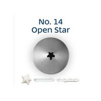 Loyal Open Star Tip No.14