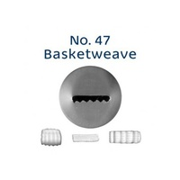 Loyal Basketweave Piping Tip No.47