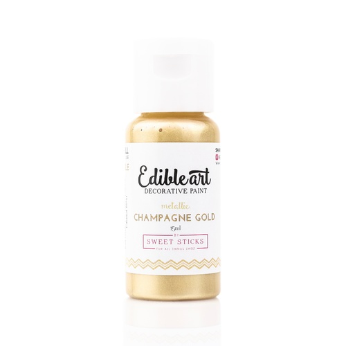 Sweet Sticks Edible Paint- CHAMPAGNE GOLD 15ml